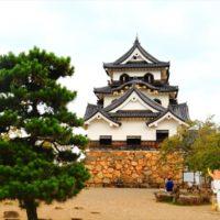 滋賀県の彦根城 ドラゴンクエストウォークご当地クエスト